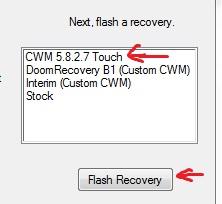 htc sensation xe install cwm clockworkmod recovery mode image screenshot picture
