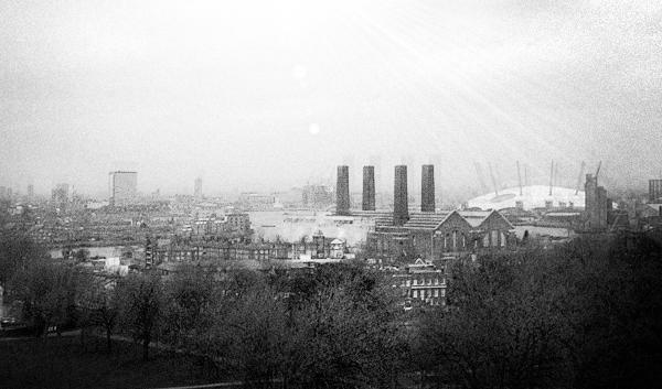 Vistas desde el Observatorio de Greenwich