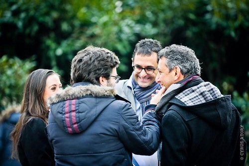 Arash Derambarsh à la rencontre des habitants de Courbevoie au marché de Bécon les Bruyères by Arash Derambarsh