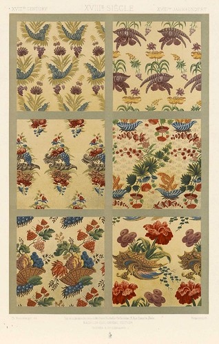 010-L'ornement des tissus recueil historique et pratique-Dupont-Auberville-1877- Biblioteca  Virtual del Patrimonio Bibliografico