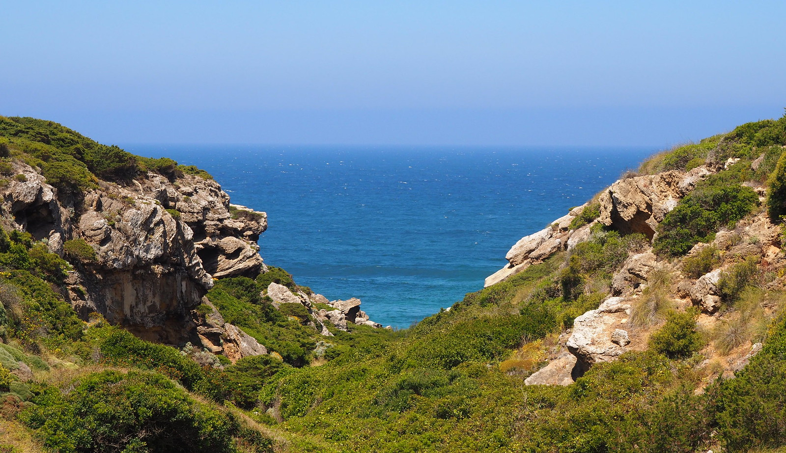 fisherman's trail between vila do bispo and cabo sao vicente
