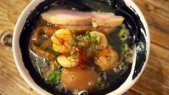 海老塩鶏そば+味玉@麺場ハマトラ(�…
