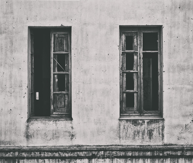 Las dos caras de una pared cualquiera