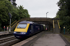 'Round the Vale' : High Speed Train at Cogan, near Cardiff