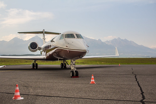 VT-CPA Poonawalla Aviation Gulfstream G550