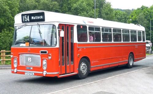 TCH 274L 'Trent Motor Traction' No. 274 Bristol RE / Eastern Coach Works  on 'Dennis Basford's railsroadsrunways.blogspot.co.uk'
