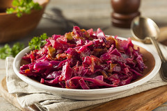 Homemade Red Cabbage and Apples