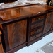 Mahogany mix inlaid 2 door 4 drwr sideboard