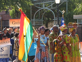 Ghana at the International Folk Festival Parade