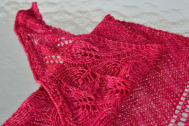 Shawl for Grandma Detail
