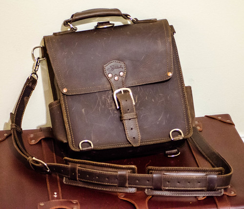 Saddleback Leather Messenger Bag Review & Accessory Giveaway