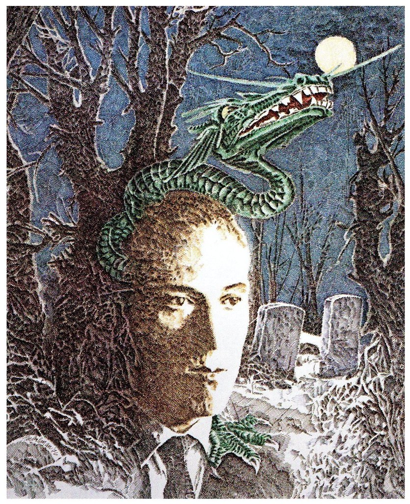 Murray Tinkelman - H.P Lovecraft Illustration 1