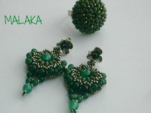 conjunto verde by Malaka65