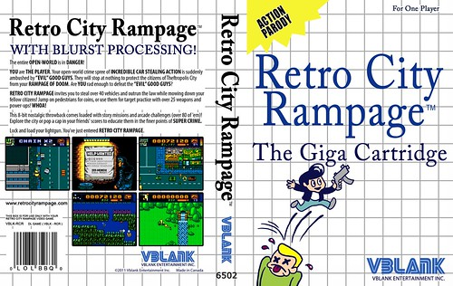 Retro City Rampage - SMS Box Insert