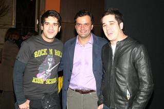 Aécio Neves, Rogério Flausino e Wilson Sideral - 11/09/2006