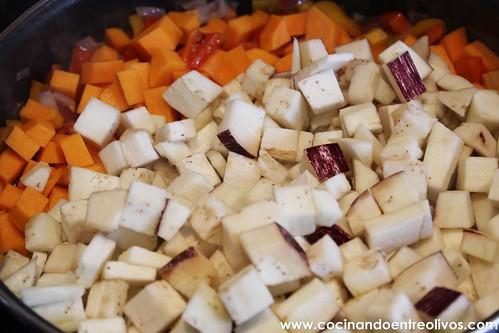 Caponata siciliana www.cocinandoentreolivos (10)