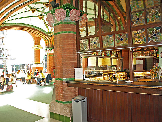 Cafe at Palau de Musica Catalan, Barcelona