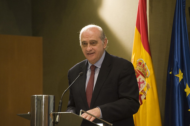 El ministro del interior jorge fern ndez d az ha presidi for Escuchas ministro del interior