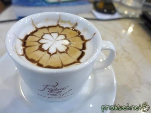 Cafe Latte at Figaro