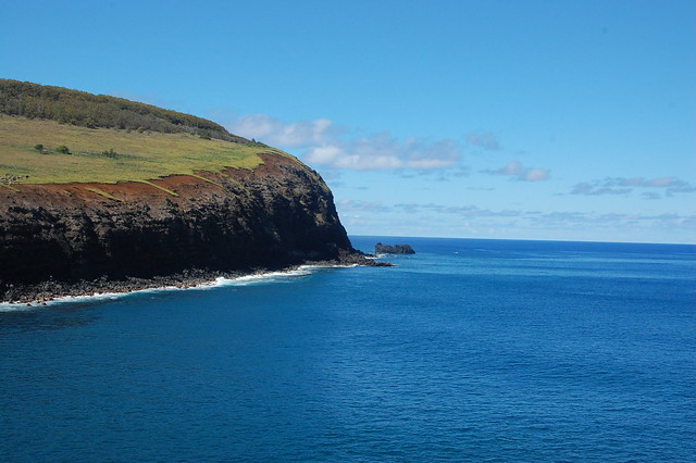 Views of the Coast En Route to Rano Kau/Orongo