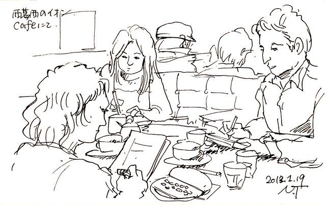 ドローイングセッション! Drawing session!