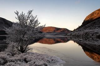 Loch Morie, Kildermorie, Ross-shire, Scottish Highlands