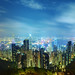 Hong Kong from The Peak by ` TheDreamSky