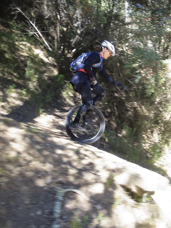Ashley finishing Chaparral