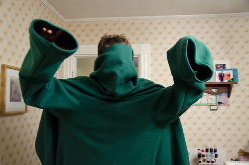 snuggie monster