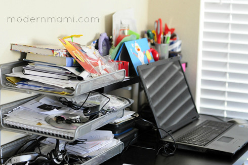 Home Office Clutter