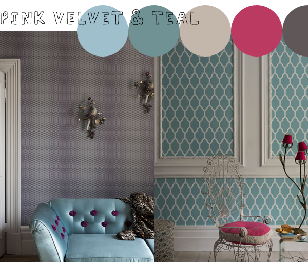 Latest and Greatest, Lattice and Tessella wallpapers from Farrow & Ball | Emma Lamb