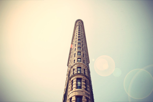 Edificio Flatiron, Manhattan.
