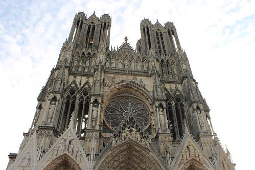 2012.08.04.026 - REIMS - Place du Cardinal Luçon - Cathédrale Notre-Dame de Reims