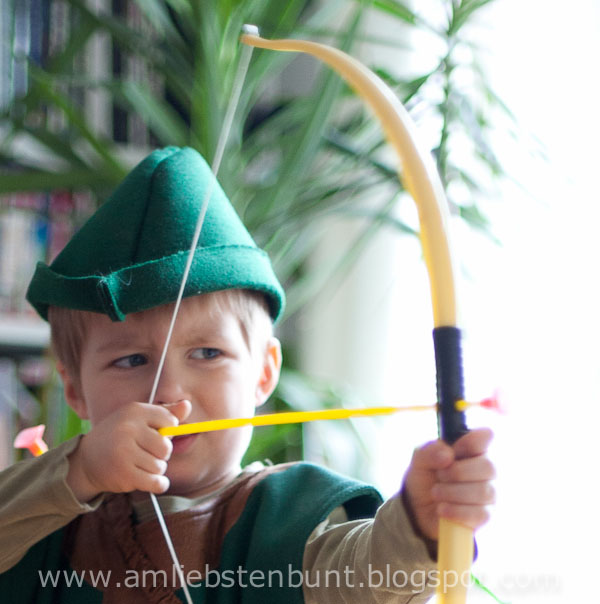 am liebsten Bunt : Schnittmuster für einen Robin Hood Hut