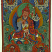 010-Thang Kha. Religiosa. Padmasambhava. Pintado en textil.-siglo XVIII-© The Trustees of the British Museum