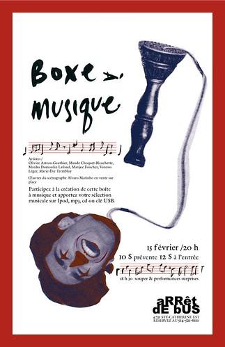 Boxe à musique