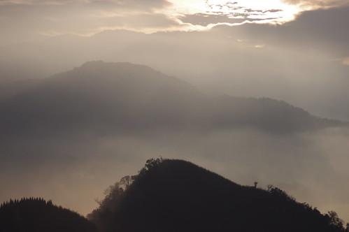 隙頂-民宿上的日出