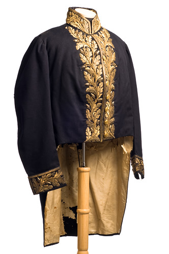Diplomatic uniform coat, 1858-60