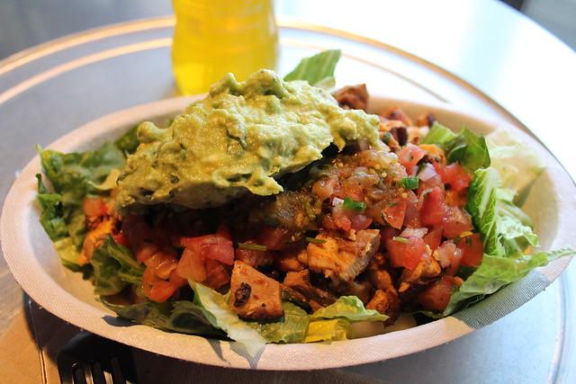 hillary clinton chipotle burrito bowl