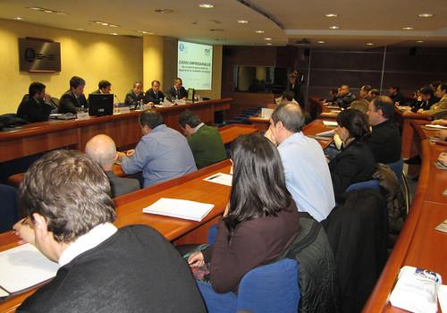 Presentación del Máster en Operaciones Internacionales en la Cámara de Comercio de Bilbao.