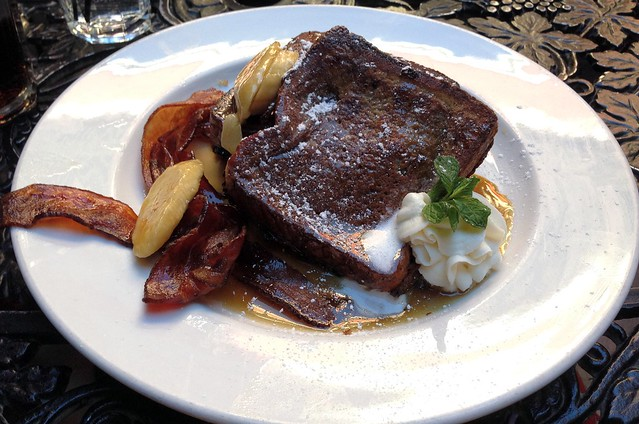 Bananas Foster French Toast from Ralph Brennan's Jazz Kitchen