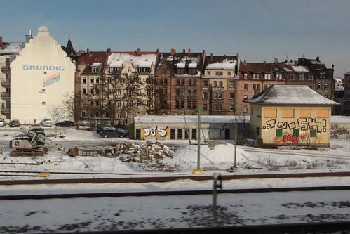 Abandoned signal box at Nuremberg