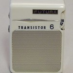 Futura 6-Transistor Radio, Model 366, Circa 1963, Made in Japan