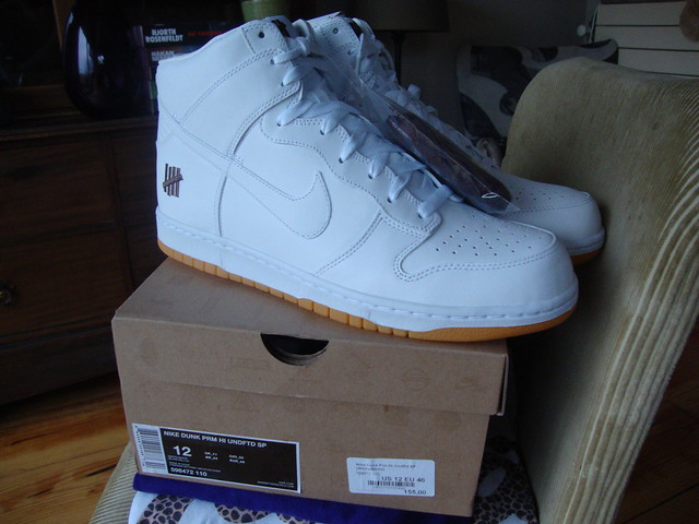size 40 119be c9194 Nike Dunk High x Undefeated US12 New in box with extra laces. A bit too big  for me so trying to pass these on for retail (Dutch retail   €155) +  shipping.