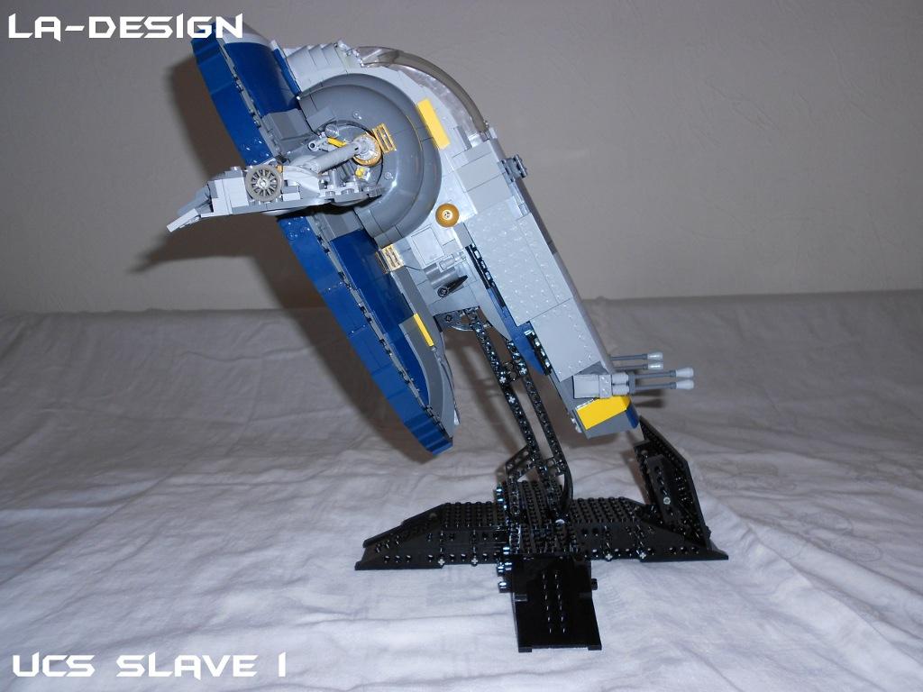 Lego Custom Star Wars Kamino Platform With Slave I 11 A Photo On