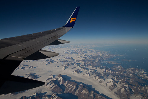 IcelandAir Over Greenland