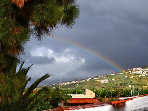 Rainbow in North Tenerife