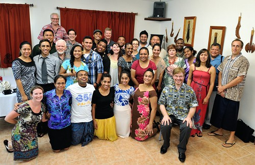 Me with the Future Leaders of the Pacific on the final day.