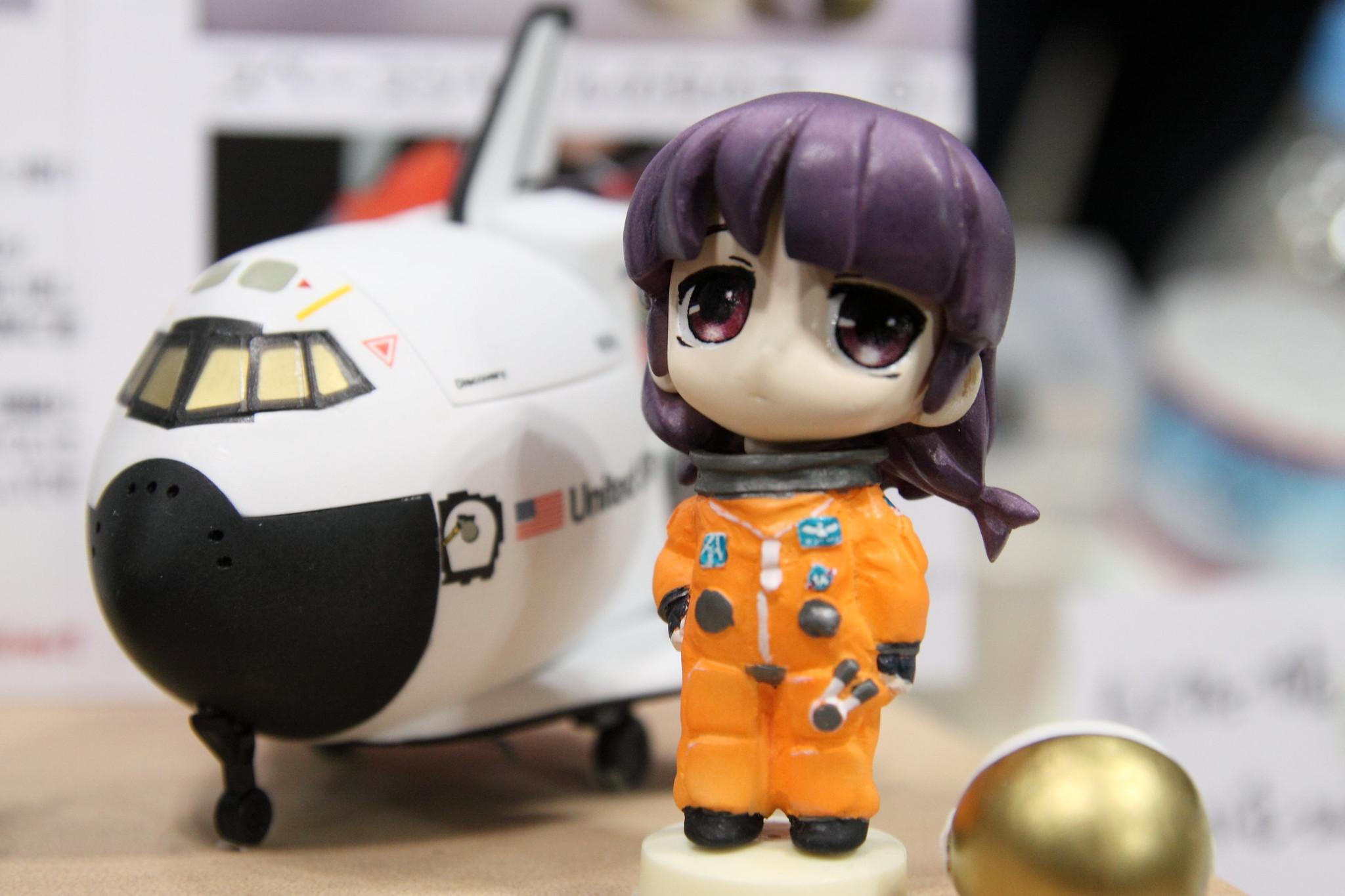 Vixen&Yamada-Mokei スペースシャトルの女の子
