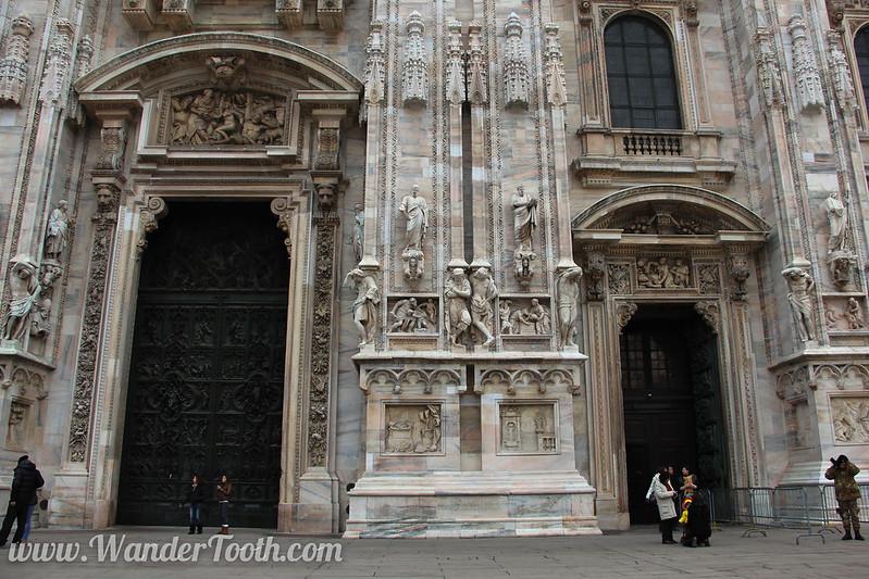 Milan Duomo Exterior